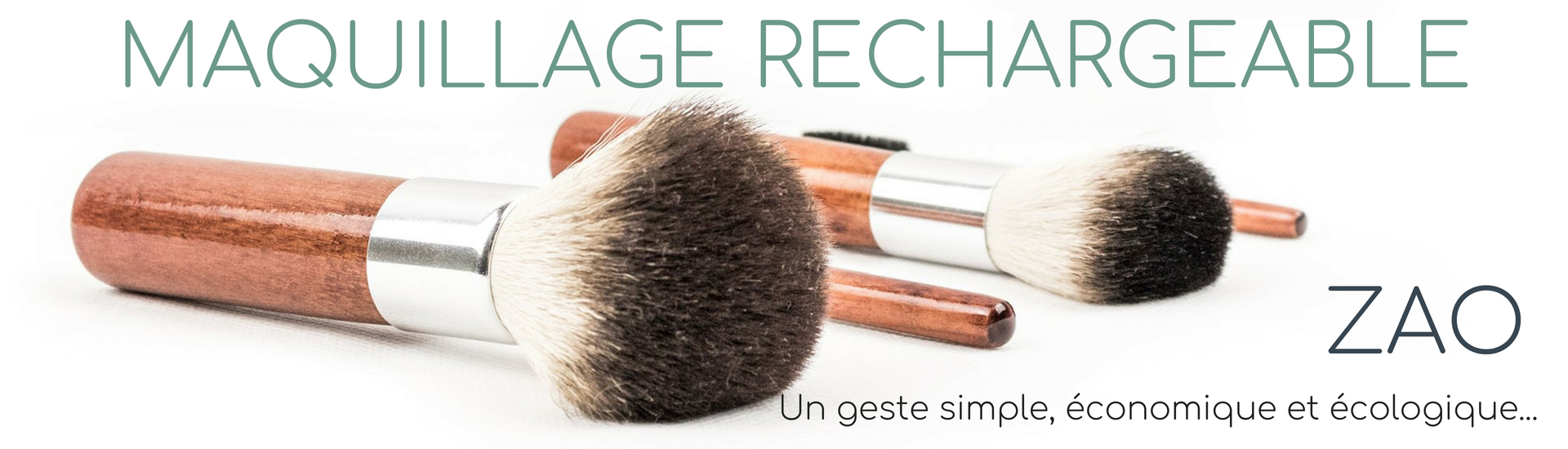 maquillage rechargeable